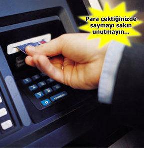 Sahtekar ATM'lere dikkat!