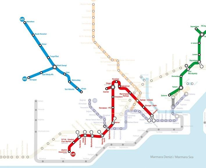 10 Eylül Pazartesi günü Başakşehir Metro AÇILIŞI OLMAYACAK