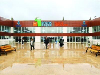 Başakpazar Türkiye'nin en modern pazarı