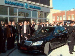 Başbakan'dan Başakşehir Belediyesi'ne ziyaret