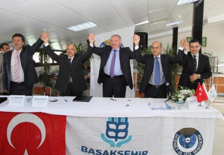 Başakşehir Belediyesi, İşçilerle Sözleşme İmzaladı