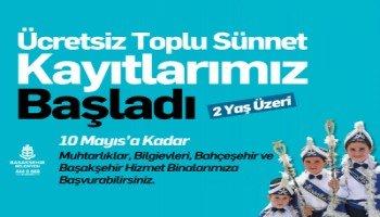 Başakşehir'de sünnet şöleni