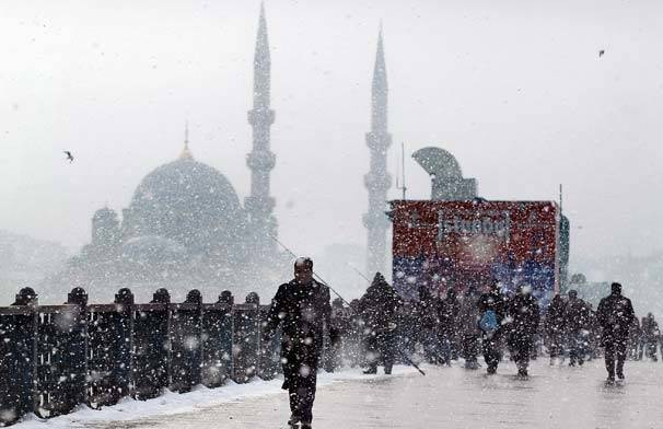 İstanbul'un kar bilançosu