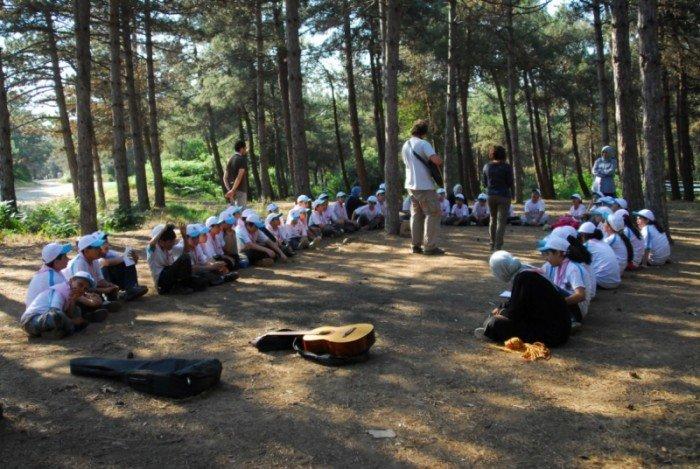 Başakşehir Belediyesi İzci Kampı Başlıyor