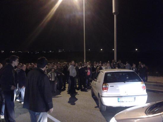 Kayaşehir'de baz istasyonu eylemi