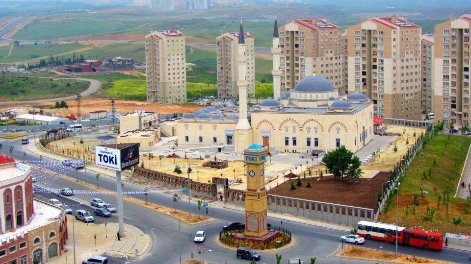Toki İstanbul Hizmet Binası Başakşehirde