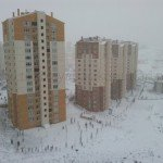 Toki Kayaşehir Kar Manzarası