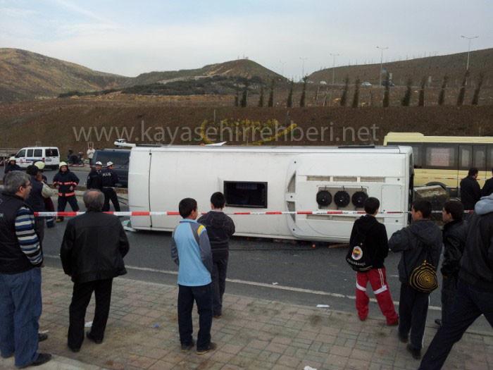 Kayaşehir 'deki Kaza medyada geniş yer buldu