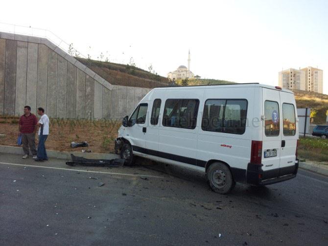 Kayaşehir Virajlarında yine Kaza oldu