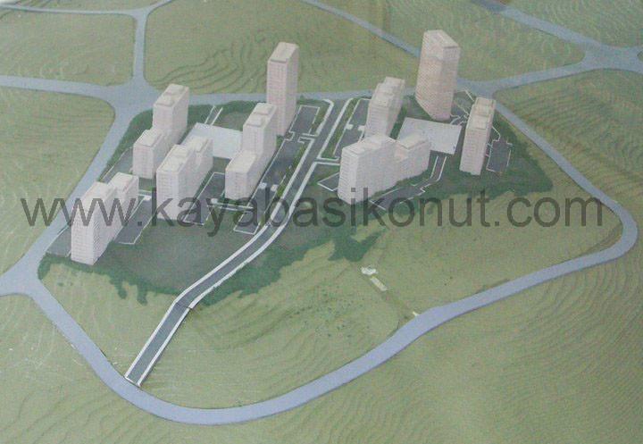Kayaşehir yeni proje maket görüntüleri