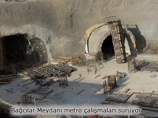 Mecidiyeköy-Mahmutbey metrosu bitmek üzere