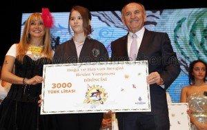TOKİ Kayaşehir İlköğretim Okul'undan bir Öğrenci Resim Yarışmasında Birinciliği Kazandı