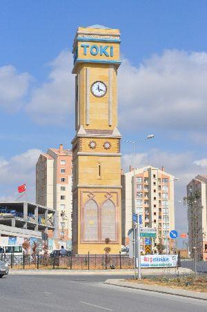 TOKİ Kayabaşı saat kulesi Resimleri