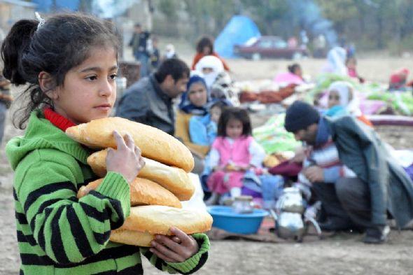 Van Depremi Mağdurları Kayaşehir'de