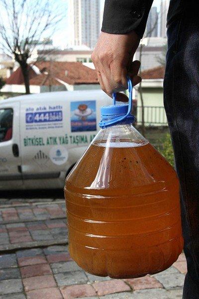 Başakşehir Belediyesi Atık Yağı Getirene Yenisini Veriyor
