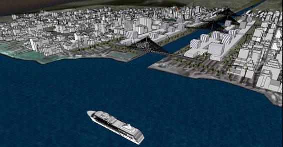 Başkan, Kanal İstanbul'un güzergahını açıkladı