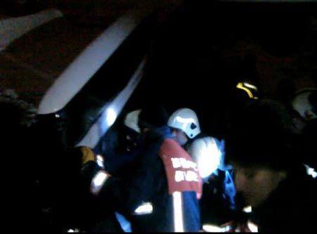 Kayaşehir-Yenibosna halk otobüsü kaza yaptı