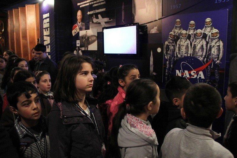 Başakşehir Belediyesi Öğrenciler için Uzay Üssü Kurdu