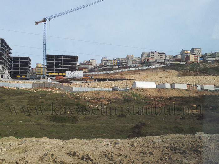 Başakşehir Kayacity İnşaatı Devam Ediyor