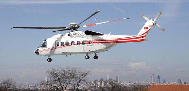 Erdoğan'ın helikopterle sürpriz İstanbul turu!