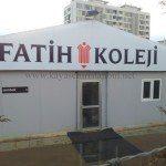 Kayaşehir Fatih Koleji İnşaat Çalışması Başladı