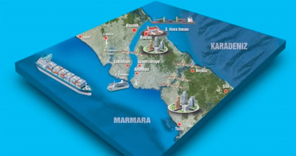Kanal İstanbul'a Panama Kanalı'ndan destek geliyor