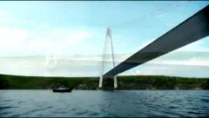 3. köprüye ilk kazma vuruldu