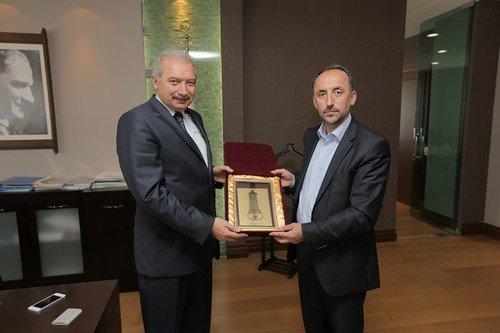 Gostivar Belediyesi'nden, Başakşehir'e Ziyaret