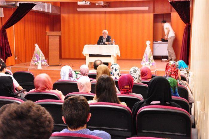 Okulumuz İhsan Süreyya SIRMA ile buluştu