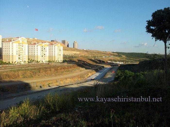 Kayaşehir Sular Vadisinde Kaynak Suyu Çıktı