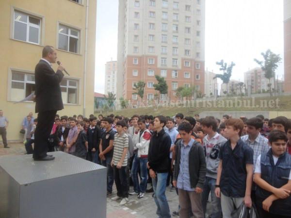 Toki Celalettin Ökten Anadolu İmam Hatip Lisesi Kapanış Töreni