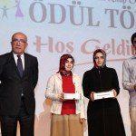 Kitap okuma yarışması ödül töreni