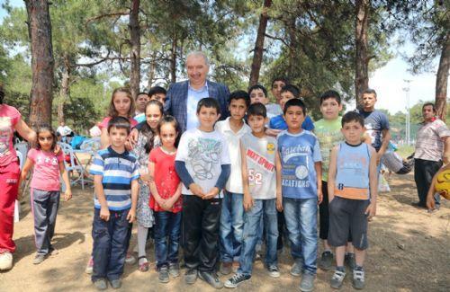 Başakşehir Bilgievi Öğrencileri Piknikte Buluştu