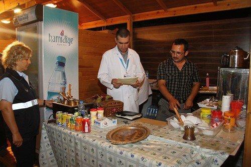 Başakşehir Belediyesi'nden, Gıda Stantlarına Denetim