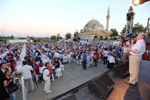 Başakşehir'den Babaeski'ye Komşuluk İftarı