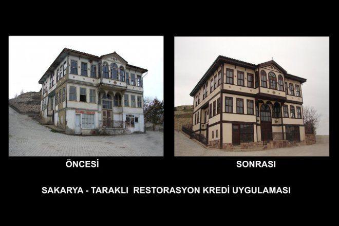 TOKİ'den Safranbolu, Beypazarı ve Taraklı Evlerine Restorasyon Kredisi