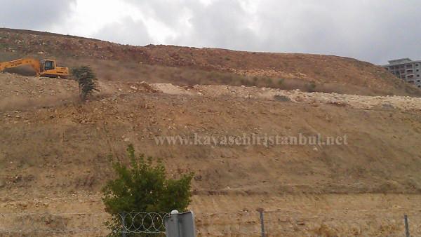 Giriş Kayaşehir Şantiye Fotoğrafları