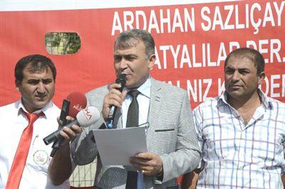 Başakşehir'de 'İmar' Protestosu