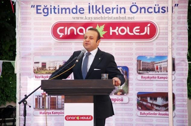 Çınar Koleji'nin yeni kampüsü eğitime açtı