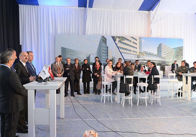 Başakşehir Şehir Hastanesi Temeli Atılıyor