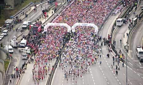 38. İstanbul Maratonu'nda start noktaları belli oldu