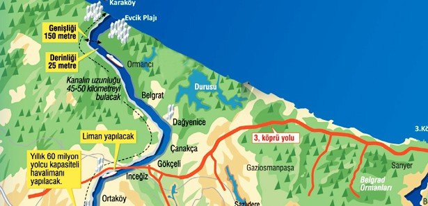 Panama'yı yapan ABD'li Kanal İstanbul'a talip