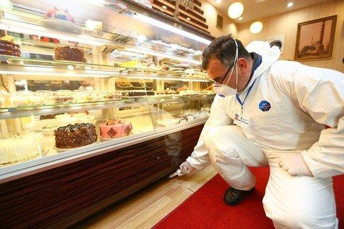 Başakşehir'de, Gıda İşletmeleri İlaçlanıyor