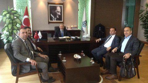Özgür Karabat, Mevlüt Uysal'ı Ziyaret Etti