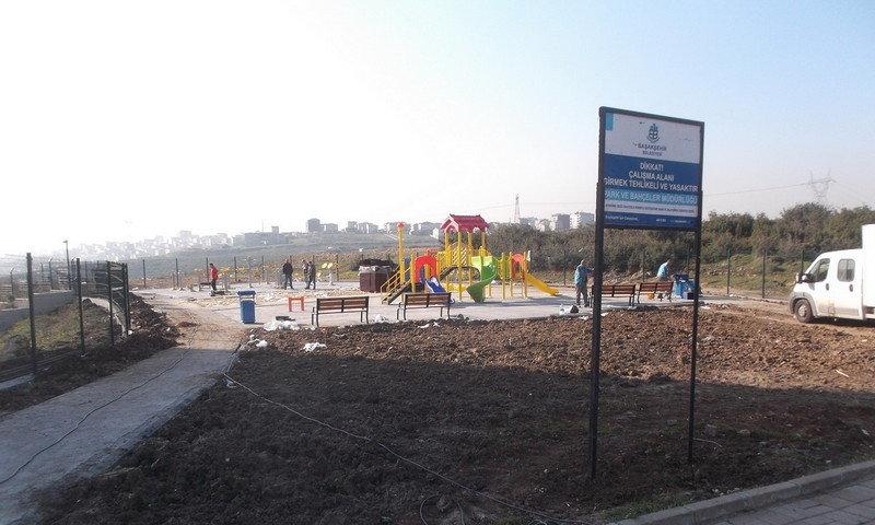 Başakşehir'e yedi yeni park