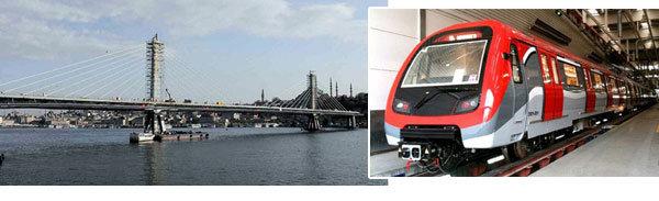 Haliç Metro Köprüsü açılıyor