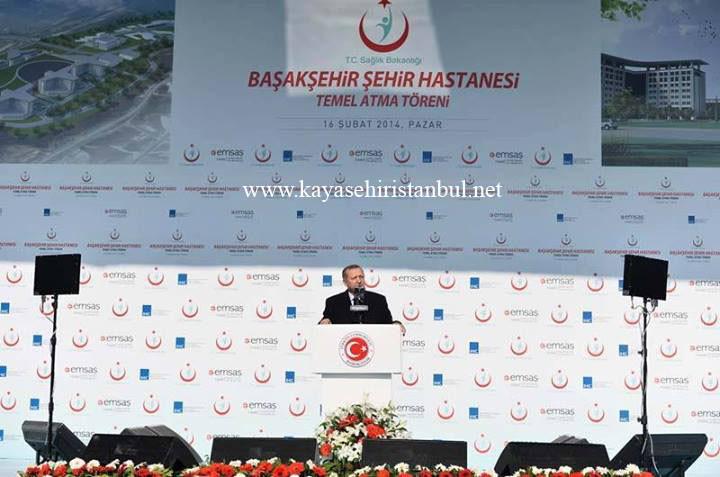 Başakşehir Şehir Hastanesi Temel Atma Töreni