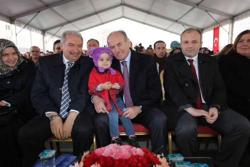 Kadir Topbaş Açılış İçin Kayaşehir'de