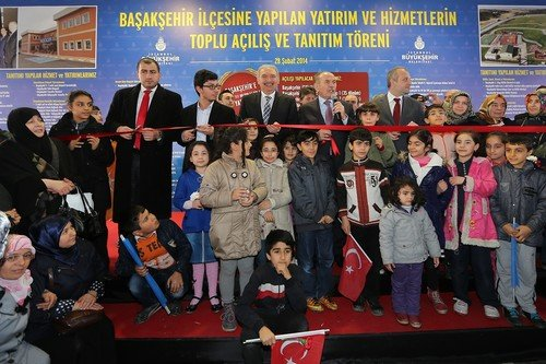 Bahçeşehir-Ispartakule Viyadüğü açılışı yapıldı