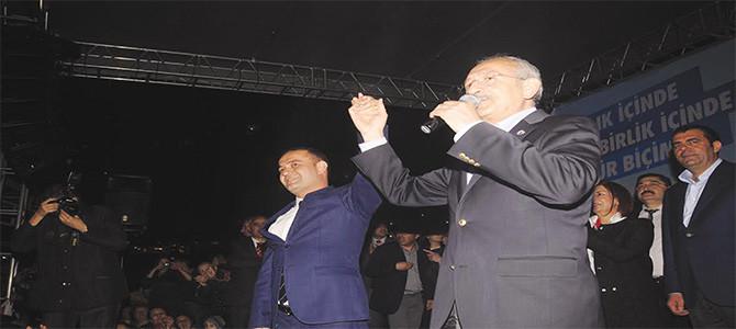 Kemal Kılıçdaroğlu Başakşehir'de